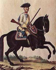 Dragoon Regiment von Walthausen (1760); Brunswick-Luneburg.