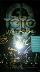 There are always lots of exciting items people sell through eBay for Centrepoint. This week is a signed edition of Toto Live in Poland! Grab it before it goes!