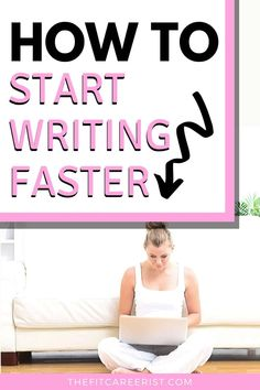 In order to learn how to write faster, you need to have a structured approach to article writing. Writing Jobs, Writing Advice, Start Writing, Work From Home Opportunities, Work From Home Jobs, Own Business Ideas, Writing Portfolio, Article Writing, How To Start A Blog