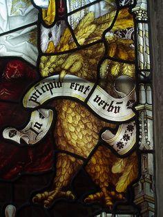 Eagle of St John, St Mary's, Oxford
