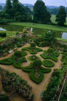 Beautifully designed garden.