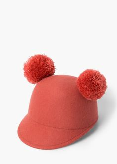 c3a13bf10d9 Tassel wool hat - Girls. Girls Winter HatsKid UnitedWool FabricKids ...