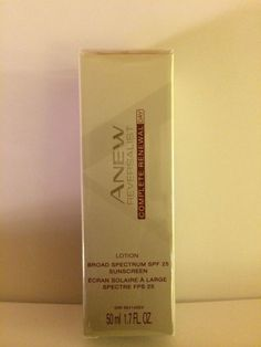 AVON ANEW REVERSALIST COMPLETE RENEWAL DAY LOTION SPF 25 #Avon