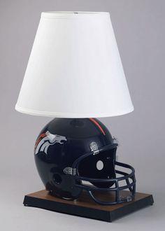 Denver Broncos Helmet Lamp