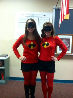 Super Hero Day- DIY Incredibles Outfit!