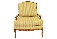 Baker Furniture French-Style  Armchair