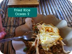 Fried Rice Ocean 2 Gili Trawangan