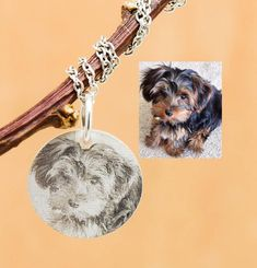 Photo Engraved Necklace, Photo Engraved Jewelry, Engraved Necklace, Engraved Jewelry, Personalized Necklace, Bridesmaid Gift, Best Friend by JubileJewel on Etsy