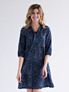 Marlene dress powder blue