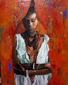 Painting by Mona Lian. Oil on canvas, monalian.com
