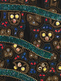 Habit à la disposition_details Textile attributed Sarah Lipska (Polish, 1882–1973)