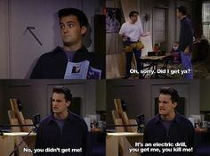 probably one of my most favourite scenes *Friends is my favorite show*