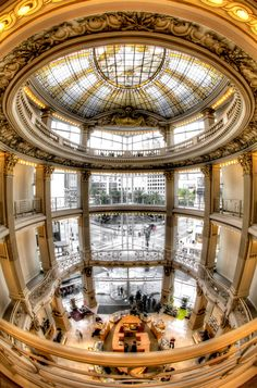 Neiman Marcus: Union Square, San Francisco. This store is very beautiful. Always enjoy a visit here.