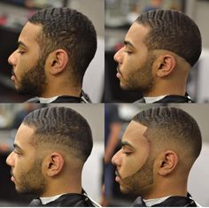 hair cut at the stop and skin fade Cool Boys Haircuts, Black Men Haircuts, Black Men Hairstyles, Boy Hairstyles, Waves Hairstyle Men, Barber Haircuts, Men's Haircuts, Black Hair Cuts, Hair Cutting Techniques