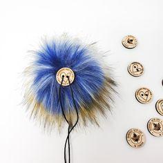 Pacific Blue Faux Fur Pom Poms – Warehouse 2020 Faux Fur Pom Pom, Pacific Blue, Black Nylons, Pom Poms, Warehouse, How To Make, Image, Color, Colour