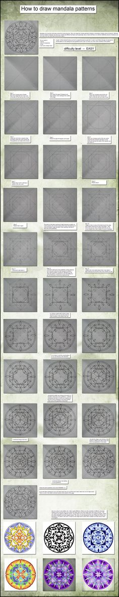 009 Mandala Tutorial by ~Tigers-stock on deviantART