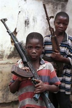 Africa has the largest number of child soldiers. Child ...