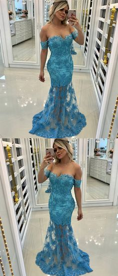 Prom Dress Princess, Mermaid sweetheart Neck Blue Tulle Prom Dress with Appliques Beading Shop ball gown prom dresses and gowns and become a princess on prom night. prom ball gowns in every size, from juniors to plus size. Pageant Dresses For Teens, Fitted Prom Dresses, Straps Prom Dresses, Elegant Bridesmaid Dresses, Prom Dress Stores, Prom Dresses 2018, Tulle Prom Dress, Mermaid Prom Dresses, Party Dresses