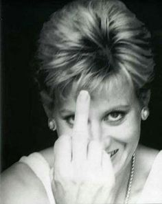 "Princess Diana.    "":O)"