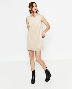 FAUX SUEDE DRESS-DRESSES-WOMAN | ZARA United States