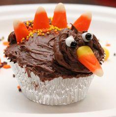 Fun Thanksgiving Tradition – Betty Crocker Turkey Cupcakes Recipe