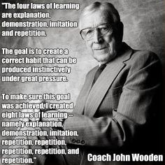 John Wooden Leadership Quotes Alluring In Honor Of #marchmadness A Quote From Basketball Legend John . Design Inspiration