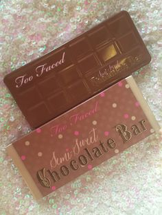 Color Me With Beauty: TOO FACED Semi-Sweet Chocolate Bar: primele impresii, review, swatches & more! Too Faced Semi Sweet, Swatch, Bar, Chocolate, Color, Beauty, Colour, Schokolade, Cosmetology