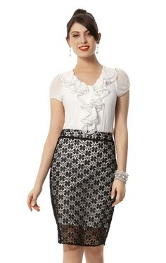Stitch Ministry Analeigh Blouse $99.99  Stitch Ministry Le Reina Skirt $99.99