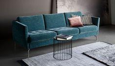 Fresh & trendy green for a pampered 2017 | BoConcept Osaka upholstered sofa
