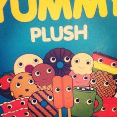Yummy Plush :: Heidi Kenney x Kid Robot