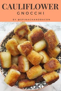 Cauliflower Gnocchi recipe by @spinachandbacon