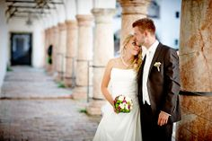 Hochzeit Manuela & Michael Standesamt Grieskirchen - Landschloss Parz DER Blick...