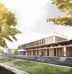 Nouveaux ateliers pour la Fondation Les Oliviers, Larchs - BETA