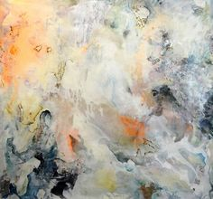 Metamorphosis  , 2014   SOLD   44 x 48 inches  Acrylic, enamel, paper, graphite on canvas