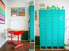 painted vintage desks
