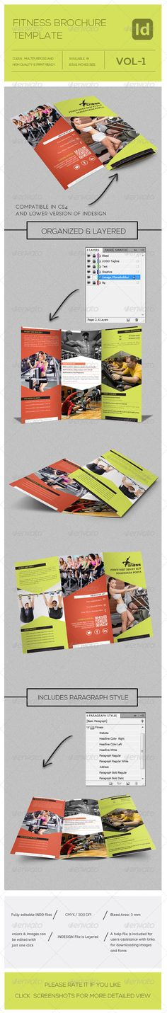 Check Out Body Trifold Brochure By Calwin On Creative Market