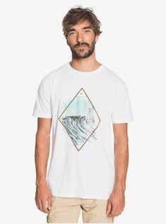 quiksilver, Waterman Conscious Journey T-Shirt, WHITE (wbb0)
