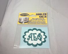 Alpha Epsilon Phi AEPHI Sorority Cooler Cals - Brothers and Sisters' Greek Store