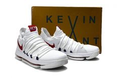 Original Big Boys KD 10 Kevin Home USA Youth Durant Shoes 2017