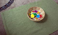 kakaová Vafle: tvary a barvy .. doma a snadno :)