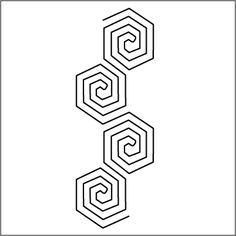 "Urban Elementz: Honeycomb - Stencil 4.5"""
