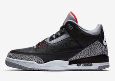 8c3c690c7db Jordan 3 Black Cement Official Images - 2018 Release Info. Jordan 3  OgJordan Retro 3Basketball UniformsBasketball ShoesNike ...