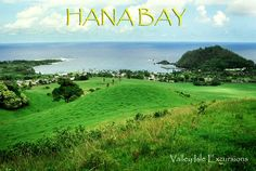 Valley Isle Excursions to Hana Bay in Maui.