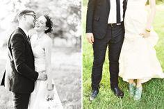 © Alicia Swedenborg - new york wedding photographer. green shoes