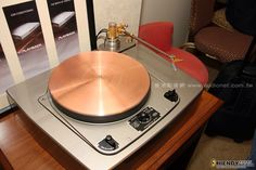 A revamped Garrard together with Steve Dobbins plinth and Reed 2A tonearm...luscious!