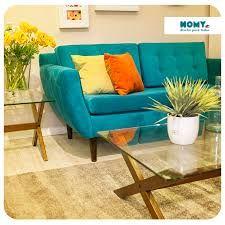 Resultado de imagen para sofa turquesa homy