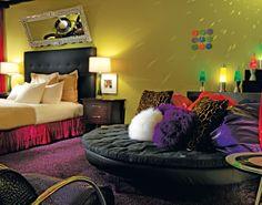 Hotel ZaZa Dallas - Concept Suite, Shagadelic. I think this is the winner!