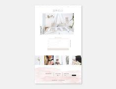 GEM + ELLI WEB DESIGN BY STUDIO 9 CO