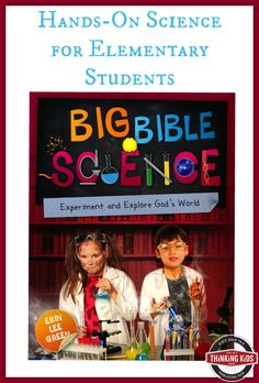 Big Bible Science by Erin Lee Green ~ Giveaway ends 6/24/16