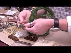 Tim Holtz Exclusive Preview - Yuletide Collection - YouTube